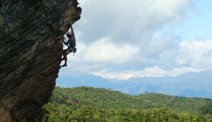 Onde praticar Escalada em BH, Minas Gerais?