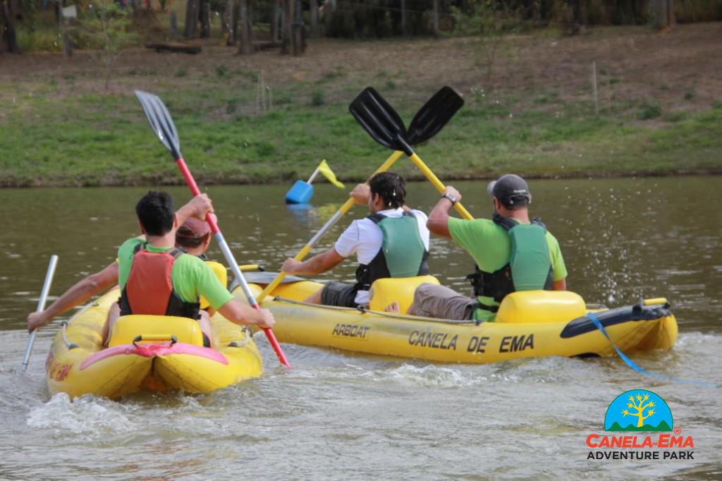 Benefícios da Canoagem, Onde praticar canoagem
