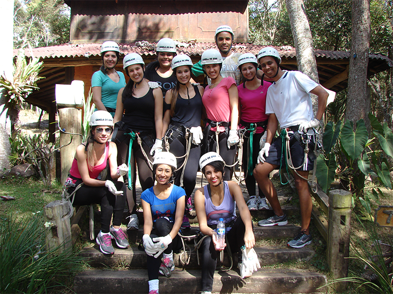 atividades de aventura em grupo